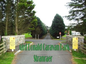 Aird Donald Caravan Park. Family run Caravan & Camping site located in 12 Acres of flat land on the outskirts of the town of Stranraer