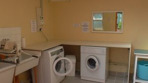 Laundry facilities at Aird Donald Caravan Park Stranraer