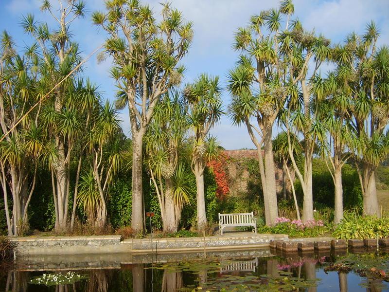 Logan Gardens near Aird Donald Caravan Park, Stranraer