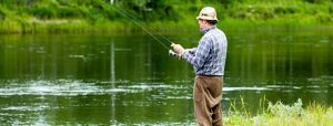 Fishing near Aird Donald Caravan Park, Stranraer