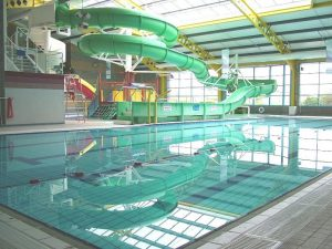 The Ryan Centre pool near Aird Donald Caravan Park, Stranraer