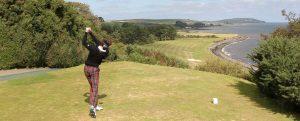 Stranraer Golf Club near Aird Donald Caravan Park, Stranraer